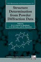 Structure Determination from Powder Diffraction Data PDF