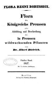 Flora des Königreichs Preussen oder Abbildung und Beschreibung der in Preussen Wildwachsenden Pflanzen: Band 5