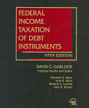 Federal Income Taxation of Debt Instruments PDF