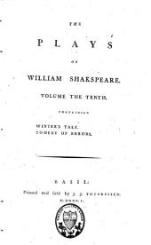 The Plays of William Shakspeare: Volume 10