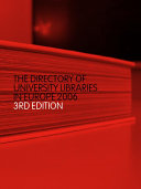 The Directory of University Libraries in Europe 2006 PDF