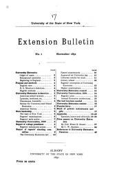 Regents' Bulletin: Issues 17-24