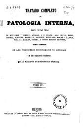 Tratado completo de patología interna: Volumen 4