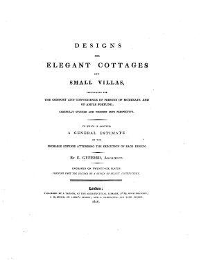 Designs for Elegant Cottages and Small Villas