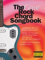 The Great Rock Chord Songbook PDF