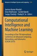 Computational Intelligence and Machine Learning PDF