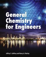 General Chemistry for Engineers PDF