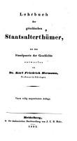 Lehrbuch der griechischen antiquit  ten PDF