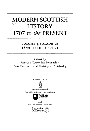 Readings 1850 to the Present