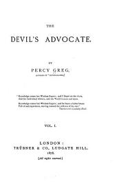 The Devil's Advocate: Volume 1