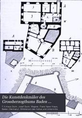 Die Kunstdenkmäler des Grossherzogthums Baden: Band 1