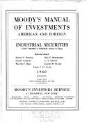 Moody S Industrial Manual Book PDF