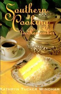 Southern Cooking to Remember Book