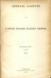 Official Gazette of the United States Patent Office: Volume 155