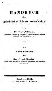 Handbuch der griechischen Litteraturgeschichte
