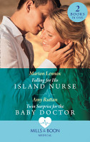 Falling For His Island Nurse   Twin Surprise For The Baby Doctor  Falling for His Island Nurse   Twin Surprise for the Baby Doctor  Mills   Boon Medical  PDF