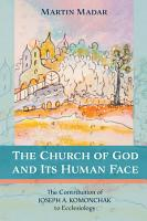 The Church of God and Its Human Face PDF