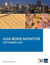 Asia Bond Monitor: September 2016