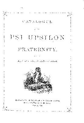 Catalogue of the Psi Upsilon Fraternity     PDF