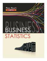 Business Statistics by Dr  V  C  Sinha  Dr  Alok Gupta  Dr  Jitendra Kumar Saxena  SBPD Publications  PDF