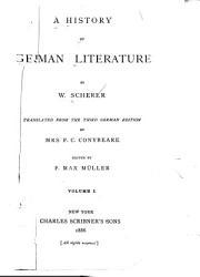 A History of German Literature PDF