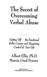 The Secret of Overcoming Verbal Abuse PDF