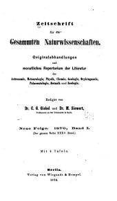 Zeitschrift für Naturwissenschaften: Band 35