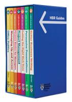 HBR Guides Boxed Set  7 Books   HBR Guide Series  PDF