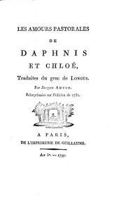 Les amours pastorales de Daphnis et Chloé