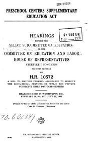 Preschool Centers Supplementary Education Act PDF