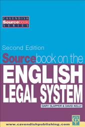 Sourcebook on English Legal System: Edition 2