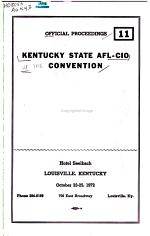Official Proceedings [of The] Convention
