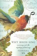 Why Birds Sing