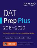 DAT Prep Plus 2019 2020 PDF