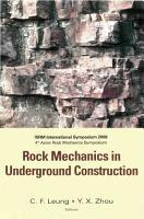 Rock Mechanics in Underground Construction PDF