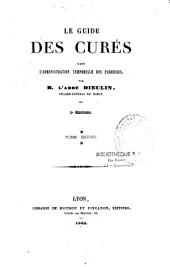 Le guide des curés dans l'administration temporelle des paroisses