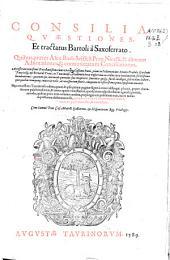 Consilia, quaestiones et tractatus Bartoli a Saxoferrato