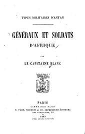 Généraux et soldats d'Afrique