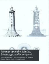 Memoir upon the lighting, beaconage, and buoyage of the coasts of France: plates