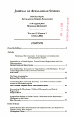 Journal of Appalachian Studies PDF