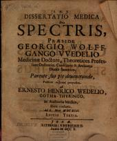 Dissertatio Medica De Spectris