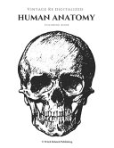 Vintage Re Digitalized Human Anatomy Coloring Book