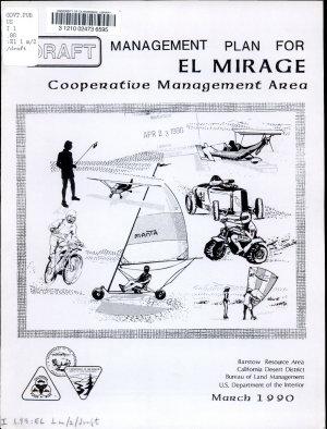 Draft Management Plan for El Mirage Cooperative Management Area PDF