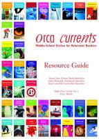 Orca Currents Resource Guide PDF