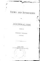 Views and Interviews on Journalism PDF