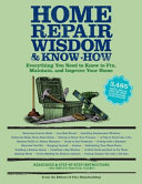 Home Repair Wisdom   Know How PDF