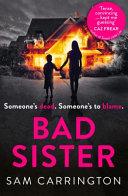 Bad Sister Book