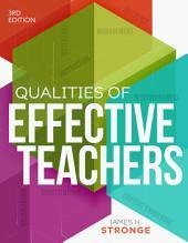 Qualities of Effective Teachers, 3rd Edition