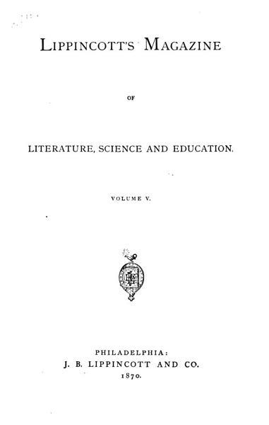 Download Lippincott s Monthly Magazine Book