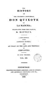 The History of the Ingenious Gentleman Don Quixote of la Mancha,3
